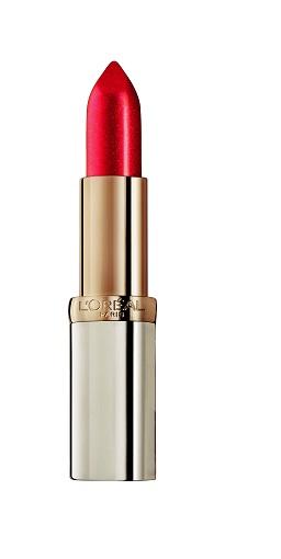 Hạng mục son môi - Bạn đọc yêu thích nhất: L'Oréal  Paris Color Richie<br/>15 sắc màu rực rỡ với thành phần chăm sóc, bảo vệ và nuôi dưỡng môi.