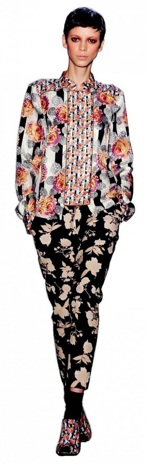 4. SUNO: Suno là một trong những thương hiệu trẻ gây chú ý của thời trang New York. Đây là phong cách