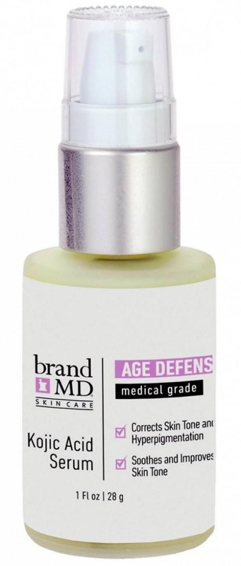K. Kotic Acid: Hoạt chất có chức năng lầm trắng vầ sáng da - Kojic acid rất được ưa chuộng ở thị trường làm đẹp châu Á, đặc biệt là ở Nhật Bản. Các nghiên cứu cho thấy Kojic acid rất hiệu quả trong việc ngăn chặn sản xuất melanin ở da. Tuy nhiên, khi sử dụng ở nồng độ cao, kojic acid có thể gây kích ứng da.
