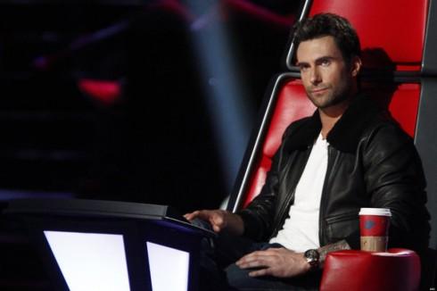 Adam Levine ngồi ghế giám khảo The Voice Mỹ
