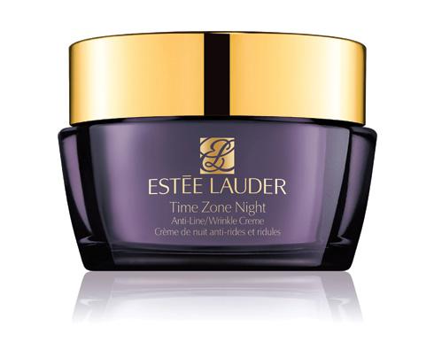 2. Stylist star - Estée Lauder Time Zone Night<br/>Kem chống nhăn ban đêm cung cấp độ ẩm và giảm các nếp nhăn ngay trong khi bạn đang ngủ. Công nghệ Sirtuin EX1 với chiết xuất gạo đặc trị các tế bào da lão hóa sớm, khôi phục sức sống cho làn da. Sự kết hợp TriHyaluronic với 3 Axit Hyaluronic giúp bổ sung, tái tạo và duy trì môi trường lý tưởng cho da. (2.100.000 VNĐ)