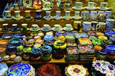 Khu chợ Bazaar