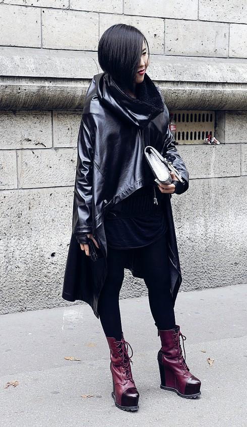 Thời trang Gothic trên đường phố