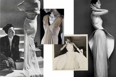 """1. Madame Grès (1903–1993)<br/>""""Tôi muốn làm một nhà điêu khắc, đối với tôi nó cũng giống như làm việc trên đá hay trên vải vậy"""". <br/>Bà là một nhà thiết kế nổi tiếng với tài sử dụng nghệ thuật xếp vải và cắt cúp theo nghệ thuật điêu khắc. Những chi tiết này đã khẳng định thương hiệu riêng của bà và đã trở thành cảm hứng thiết kế cho biết bao nhà thiết kế ngày nay. Với cá tính mạnh mẽ và phong cách làm việc độc lập, bà thường thiết kế và cắt may mà không có trợ lý."""