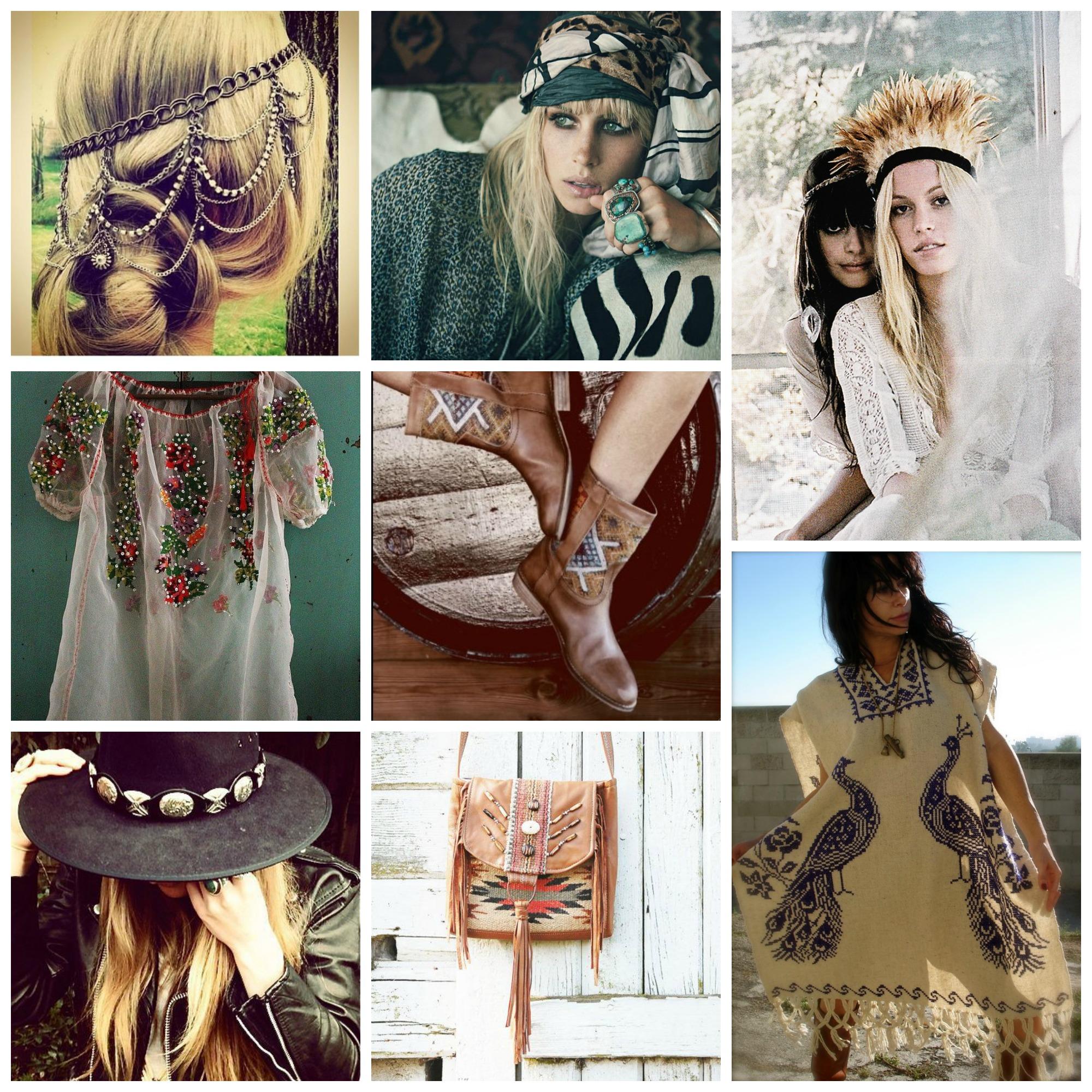 Phong cách bohemian - Thời trang từ tinh thần du mục
