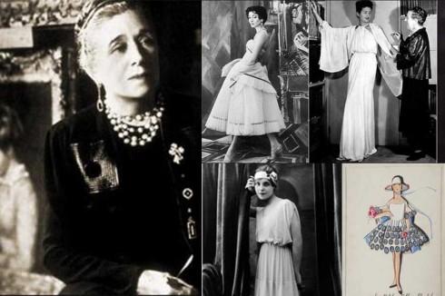 2. Jeanne Lanvin (1867-1946)<br/>Những ai yêu thích vẻ đẹp kiêu kì cổ điển trong trang phục hẳn sẽ biết tới Lanvin, bà bắt đầu nổi tiếng từ khi thiết kế trang phục cho con gái của mình. Sau này, khi được đặt may nhiều, bà mở một cửa hiệu thời trang dành cho trẻ em. Tới nay, thương hiệu Lanvin còn sản xuất thời trang cao cấp dành cho phụ nữ và nước hoa.