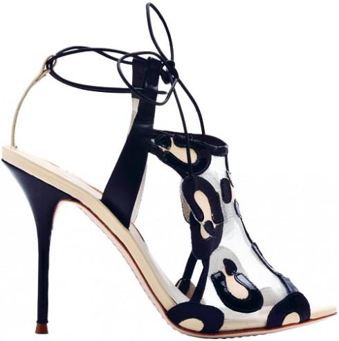 Giày cao gót bằng da SOPHIA WEBSTER