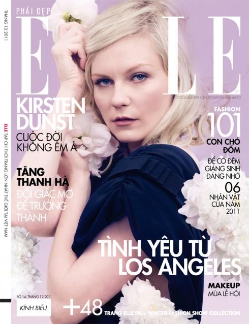 Tạp chí Elle tháng 12-2011