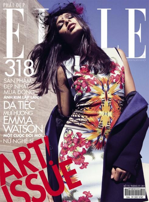 Tạp chí Elle tháng 1-2012