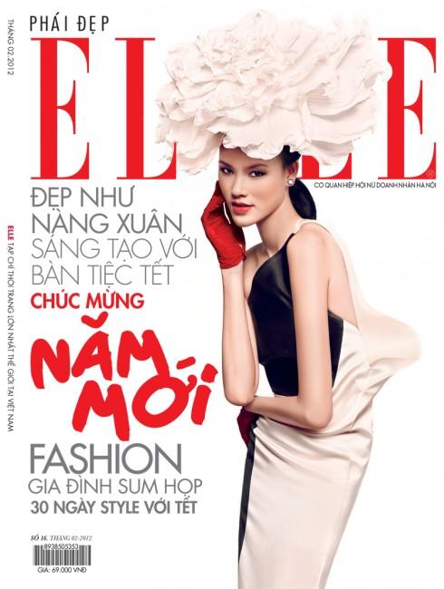 Tạp chí Elle tháng 2-2012