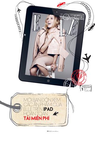 Mời các bạn đón xem ấn phẩm ELLE trên Ipad