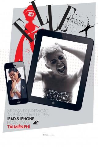 Mời các bạn đón xem ấn phẩm ELLE trên IPhone&Ipad