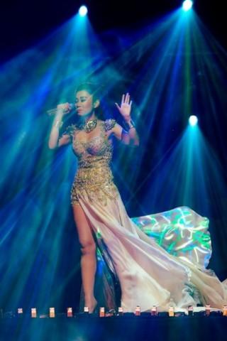 Phong cách thời trang của Thu Minh trong liveshow