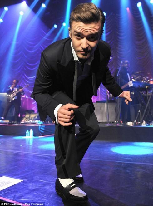 Justin Timberlake từng nhận được 14 giải thưởng VMAs.