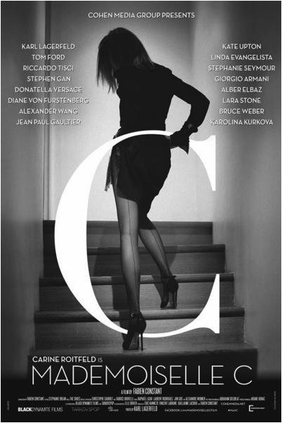 """""""Madamoiselle C"""" là bộ phim tài liệu nói về Cựu TBT Vogue Paris, Carine Roitfeld"""