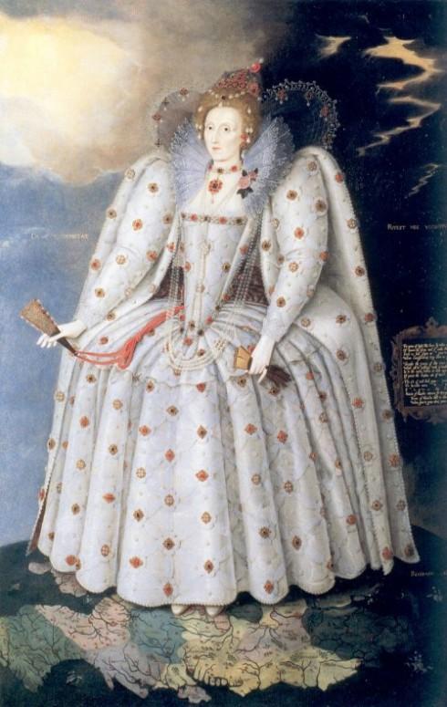 Chân dung nữ hoàng Elizabeth