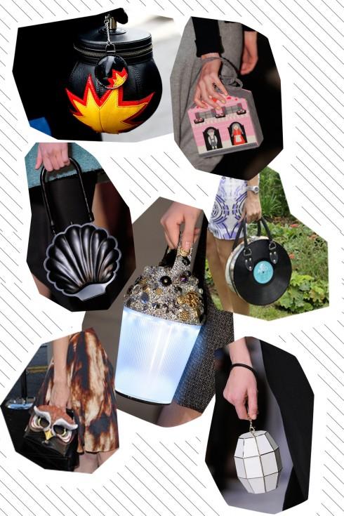 Những chiếc túi quai cầm tay này sẽ làm bạn thật sự nổi bật, thể hiện sự tinh nghịch đầy thu hút của bạn!
