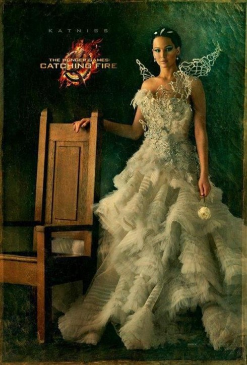 Jennifer Lawrence trong Hunger Games: Catching Fire.