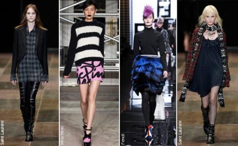 Grunge-Punk của thời trang Thu-Đông 2013