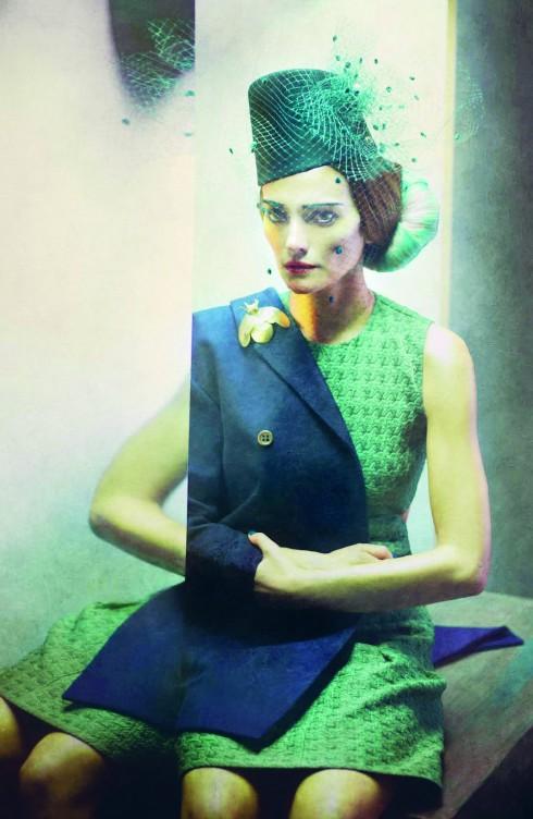 Một tấm ảnh thuộc bộ sưu tập lấy cảm hứng từ tranh Picasso của Eugenio Recuenco.