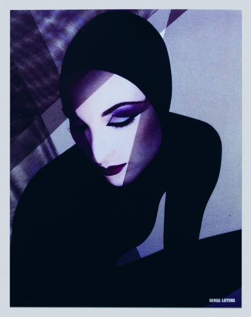 Một mẫu quảng cáo của Shiseido do nhiếp ảnh Serge Lutens thực hiện.