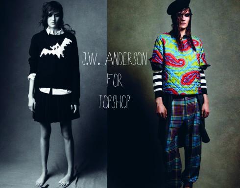 Thiết kế của Anderson cho Topshop