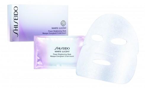 Bước 4 - Mặt nạ: Những hoạt chất chuyên sâu giúp loại bỏ melanin đã được phân tán.<br/>Mặt nạ dưỡng trắng Shiseido 1.620.000 VNĐ