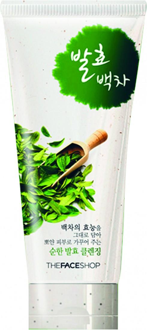 Sữa rửa mặt THEFACESHOP 379.000 VNĐ<br/>Bước 1 - Làm sạch: Thành phần trà trắng và công thức lên men đặc biệt giúp làm sạch sâu.