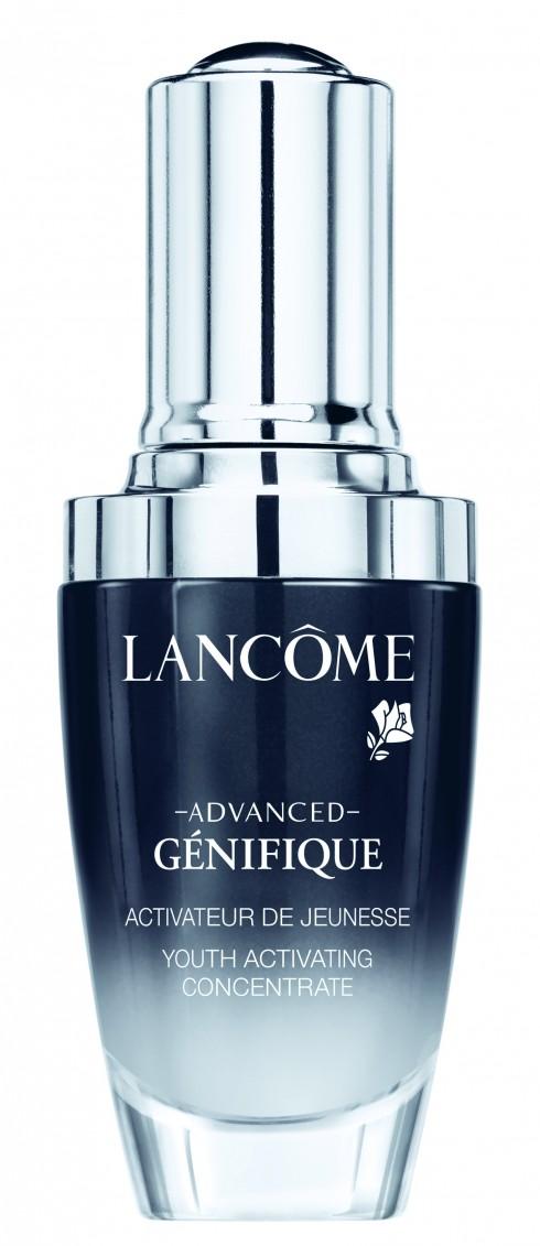 Serum Génifique LANCÔME 3.500.000 VNĐ<br/>Bước 3 - Đặc trị: Tinh chất Génifique ngăn ngừa lão hóa toàn diện. Tinh chất Capture Lift làm săn chắc và thon gọn khuôn mặt.