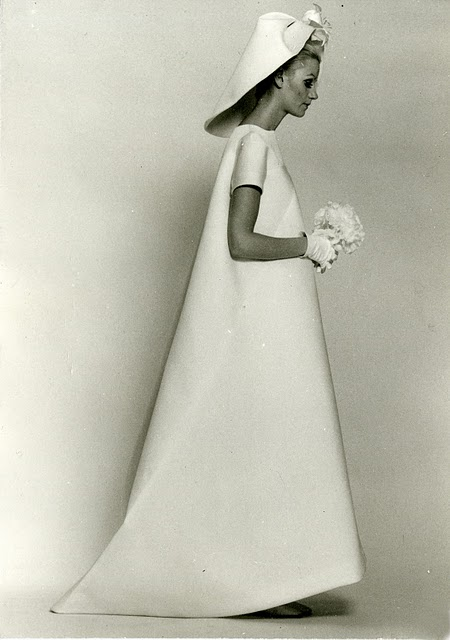 balenciaga wedding dress 1968