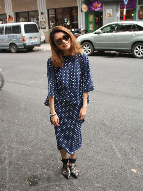 Streetstyle: Polka Dot