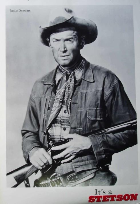 Hình tượng cowboy James Stewart