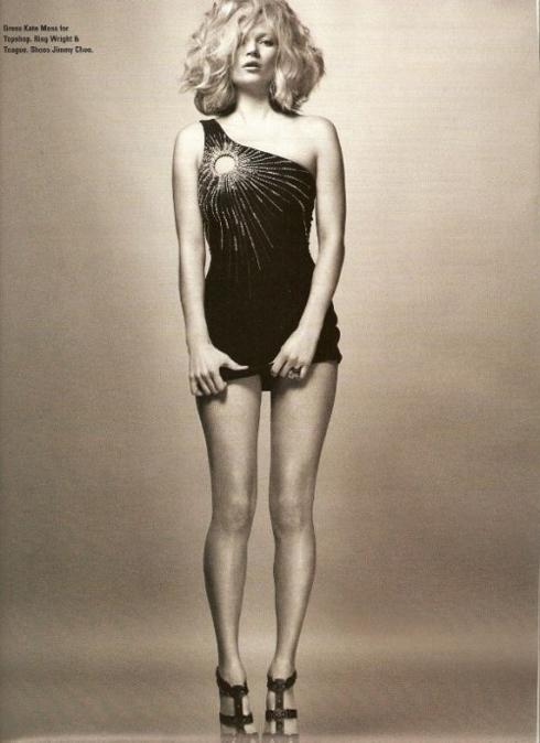 Kate Moss hợp tác cùng Topshop