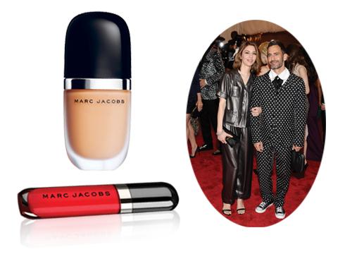 Nàng thơ Sofia Coppola được trang điểm với Marc Jacobs Cosmetics khi đến dự Met Gala 2013