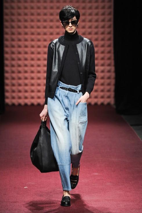 Denim trên sàn catwalk: Show diễn của Rachel Comey