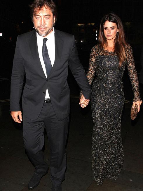 Vợ chồng Penelope Cruz và Javier Bardem cùng nhau đến buổi ra mắt phim