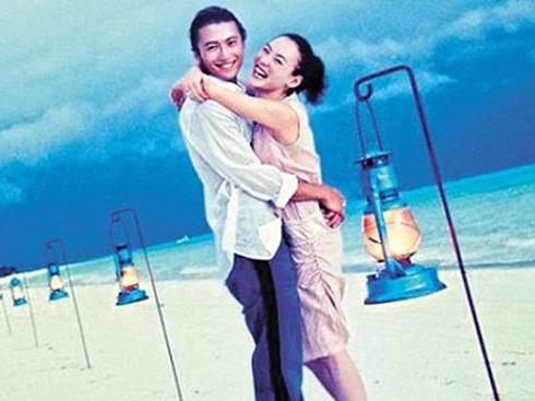 Nụ cười tươi tắn gần như duy nhất của Tạ Đình Phong là khi ở bên Trương Bá Chi