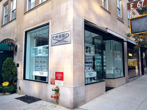 Creed boutique tại Madison Avenue, New York