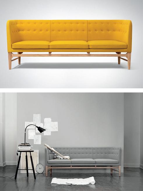 Ghế Mayor<br/>Của Anne Jacobsen thiết kế năm 1939, mới đây đã chính thức được đưa vào sản xuất hàng loạt bởi &amp;Tradition.