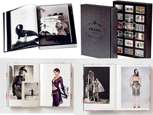 Prada<br/>Cuốn sách ảnh khai tỏ lịch sử, giá trị, tầm nhìn thương hiệu của Prada ra đời nhân dịp kỷ niệm sinh nhật 100 năm. Hàng ngàn thông tin hấp dẫn đã được tiết lộ lần đầu tiên: từ mối quan tâm của Miuccia Prada với thời trang, kiến trúc.
