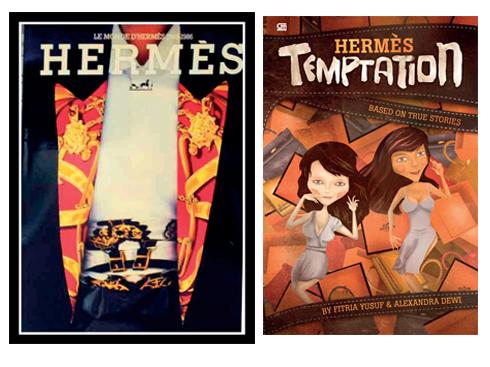Hermes - Hermes Temptation<br/>Cuốn sách đi xa hơn việc chỉ giới thiệu kỹ thuật hay bí quyết của thương hiệu huyền thoại này. Nhắc tới Hermès là phải nhắc tới nghệ thuật. Nghệ thuật là linh hồn của Hermès. Những hình ảnh và câu chuyện đưa chúng ta vào thật sâu trong thế giới đó, chúng sống động tới mức khiến ta có cảm giác như đang được ngồi làm việc bên cạnh những nghệ nhân bậc thầy nơi xưởng thủ công Hermès.