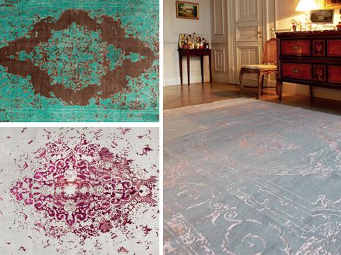 """Thảm Tabriz Lilac<br/>Iran vốn nổi tiếng về thảm truyền thống. Những tấm thảm thuộc BST """"Tabriz Lilac"""" được thiết kế bởi Isfahan, NTK gốc Iran, sẽ đem đến cho bạn cảm nhận mới mẻ về thẩm mỹ hiện đại kết hợp với tinh hoa của phương pháp dệt thảm truyền thống của quốc gia này."""