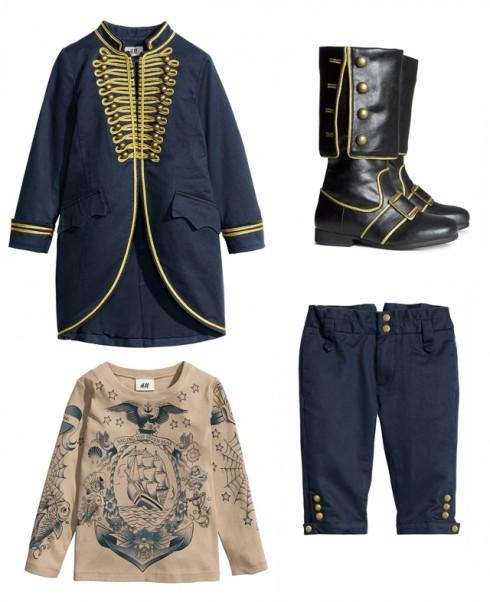 Trang phục hóa thân thành cướp biển với nhiều item có thể dùng cả sau Halloween