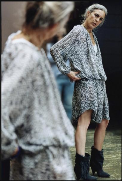 Nhà thiết kế Isabel Marant là người đánh giá cao cái đẹp tự nhiên mà quyến rũ.