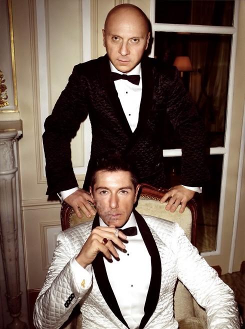Ảnh chụp cho tạp chí GQ Ý(số tháng 6/2009) qua lăng kính của nhiếp ảnh gia Terry Richardson.