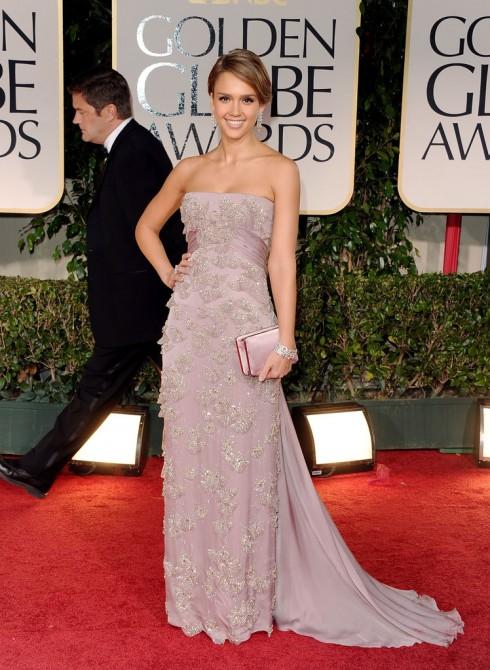 Tháng 1/2012 - Nữ diễn viên người Mỹ tham gia lễ trao giải