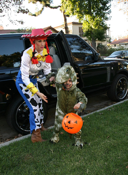 Gwen Stefani và con trai Kingston Rossdale