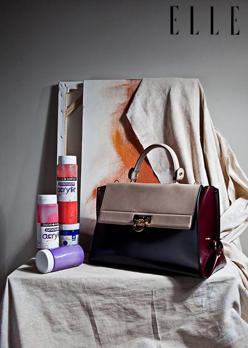 Túi xách da bê ba màu Sofia SALVATORE FERRAGAMO