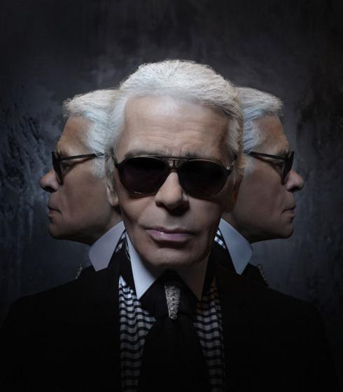 Nhà thiết kế Karl Lagerfeld