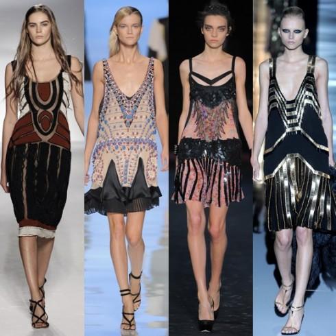 Từ trái qua: Alberta Ferretti, Etro, Roberto Cavalli và Gucci